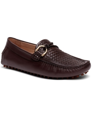 Men's Malone Interweave Driver Leather Loafer Slip-On Casual Shoe Men's Shoes