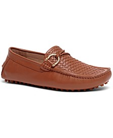 Men's Malone Interweave Driver Leather Loafer Slip-On Casual Shoe