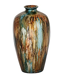"Ruth Collection 18"" Lacquered Ceramic Vase"