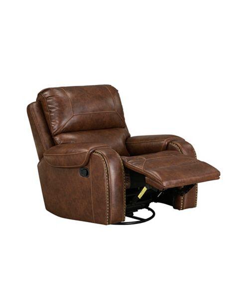 Furniture Winslow Manual Motion Swivel Glider Recliner