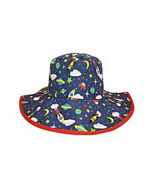 Baby Boys and Girls Reversible Bucket Hat