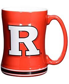 Rutgers Scarlet Knights 14 oz Relief Mug
