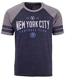 Majestic Men's New York City FC Moments of Momentum Tri-Blend T-Shirt