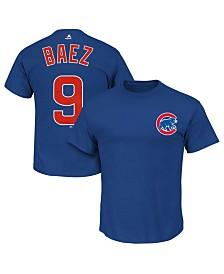 Majestic Women's Javier Baez Chicago Cubs Player T-Shirt