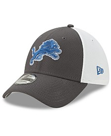 New Era Detroit Lions Pop Out Diamond Era 39THIRTY Cap