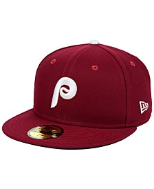 Philadelphia Phillies Authentic Collection 59FIFTY Fitted Cap