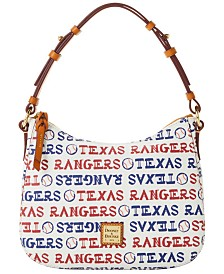 Dooney & Bourke Texas Rangers Small Kiley Hobo Bag