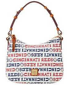 Dooney & Bourke Cincinnati Reds Small Kiley Hobo Bag