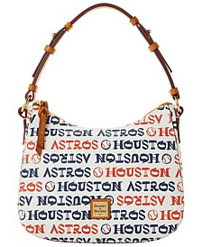 Dooney & Bourke Houston Astros Small Kiley Hobo Bag