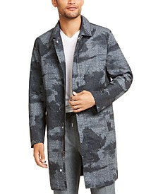 Men's Foggy Forest Trench Coat