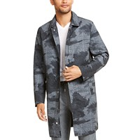 Deals on Alfani Men's Foggy Forest Trench Coat