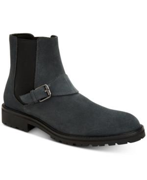 Calvin Klein Boots MEN'S UPTON DRESS CASUAL CHELSEA BOOTS MEN'S SHOES