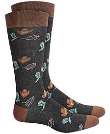 Men's Western Socks, Created for Macy's