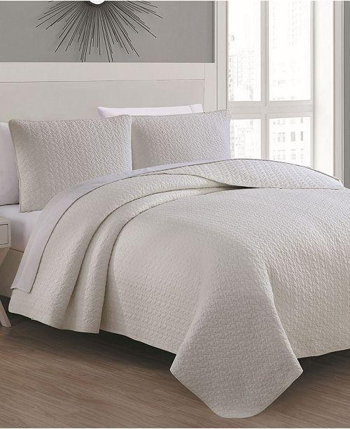 American Home Fashion Estate Tristan Quilt Set