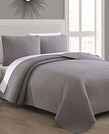 Estate Tristan King 3 Piece Quilt Set