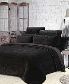 Estate Joanna 3 Piece Quilt Set, Full/Queen