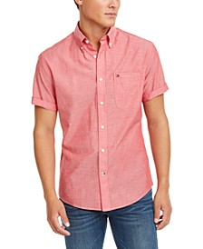 Men's Slim-Fit Wainwright Short Sleeve Shirt, Created for Macy's