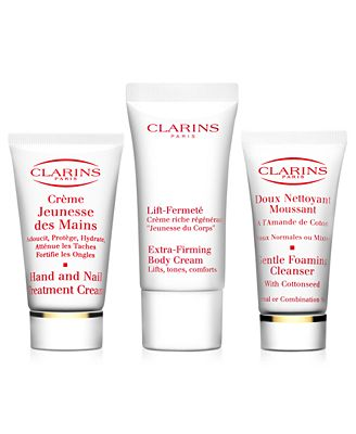 Receive a FREE Trio with $50 Clarins purchase