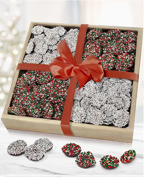 Chocolate Covered Company Belgian Chocolate Nonpareil Gift Tray