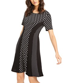 Michael Michael Kors Mod Dot Dress, Regular & Petite
