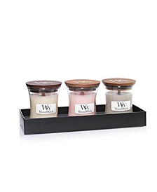 WoodWick Harvest Mini Candle Gift Set