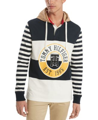 Men's Bruno Rugby Hoodie, Created for Macy's