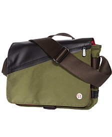 Grand Army Small Shoulder Bag with Back Zipper