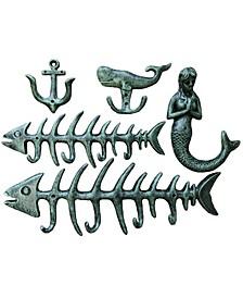 5 Piece Fish Bone Hook Set