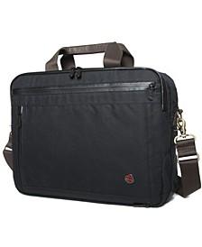 Waxed Briefcase