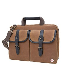 "Token Waxed Knickerbocker 13"" Laptop Bag"