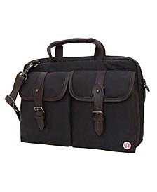 """Waxed Knickerbocker 13"""" Laptop Bag"""