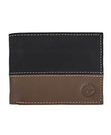 Timberland Two-Tone Commuter Wallet