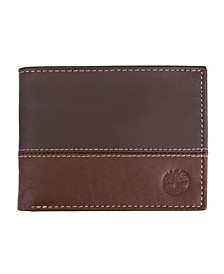 Two-Tone Commuter Wallet