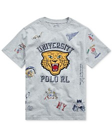 Polo Ralph Lauren Big Boys Jersey Cotton T-Shirt