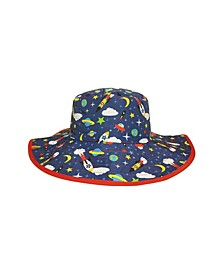 Toddler Boys and Girls Reversible Bucket Hat