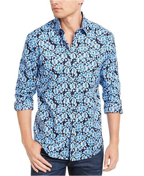 Club Room Men's Altona Floral Graphic Shirt