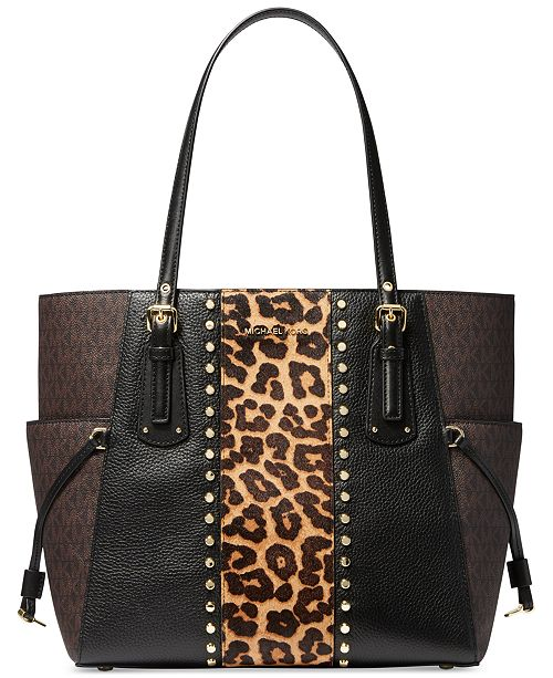 Michael Kors Voyager East West Leather