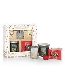 Holiday Tumbler Candle Set