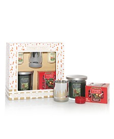 Holiday Tumbler Candle Set