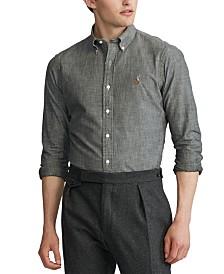 Polo Ralph Lauren Men's Indigo Chambray Sport Shirt
