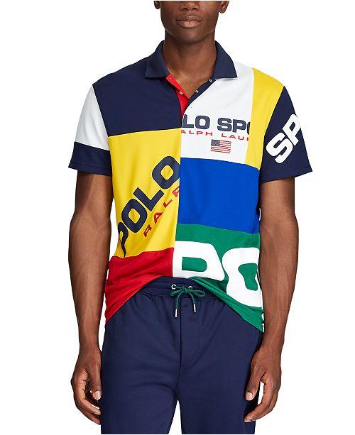 Ralph Pique Lauren Men's Tech Shirt Polo lKJFuTc31