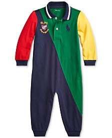 Polo Ralph Lauren Baby Boys Novelty Polo Coverall