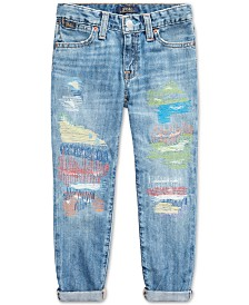Polo Ralph Lauren Toddler Girls Astor Slim Boyfriend-Fit Jeans