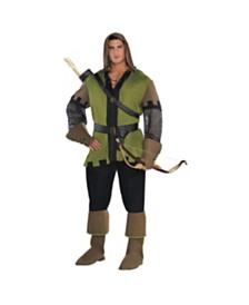 Amscan Prince Of Thieves Adult Men's Costume - Plus Size