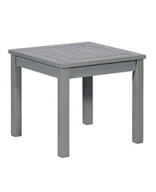 Simple Outdoor Side Table