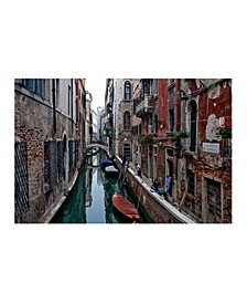 """Collection - Men at Work, Venice Italy Canvas Art, 36"""" x 27"""""""