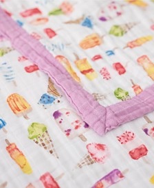 Little Unicorn Brain Freeze Cotton Muslin Big Kid Quilt
