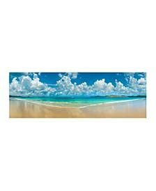 "- Whitehaven Beach Canvas Art, 12"" x 36"""