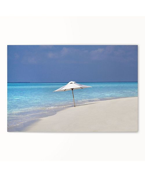 """CHRISTOPHER KNIGHT COLLECTION - Cool Beach Canvas Art, 18"""" x 24"""""""