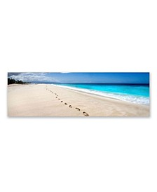 """- Footsteps Canvas Art, 12"""" x 36"""""""